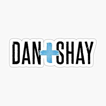 Dan and Shay Logo Sticker - Sticker Graphic - Auto Wall Laptop Cell Truck Sticker for Windows Cars Trucks