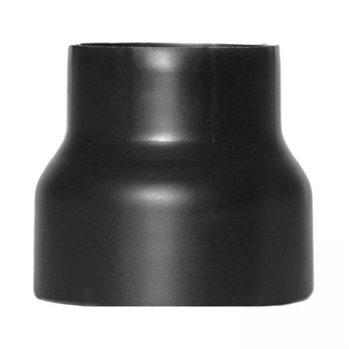 raik SH013-032-sw Rauchrohr/Ofenrohr Reduzierung 160mm - 130mm schwarz