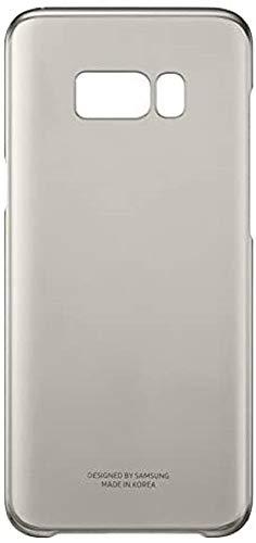 Samsung EF-QG955CFEGWW Clear Schutzhülle für Galaxy S8 Plus, Gold