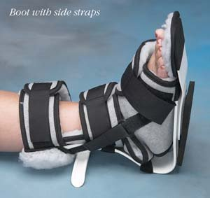 Norco Ankle Contracture Boot w/straps, Size: Stg/LG
