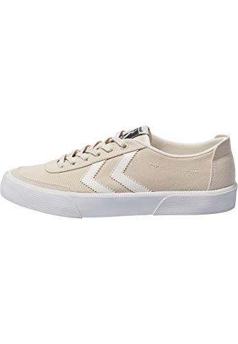 Hummel Unisex Stockholm Low Sneaker, Pristine White, 42 EU
