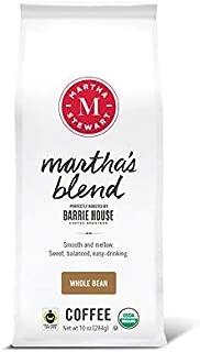 Martha Stewart Coffee Martha's Blend by Barrie House - Whole Bean Coffee 10 oz bag
