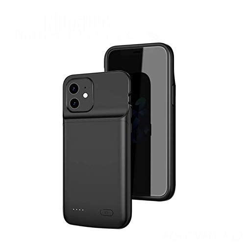 for iPhone 12 Mini Battery Case,Idealforce 4700mAh Support Wired Headset& Bluetooth Headset&Audio External Backup Portable Pack Battery Charger Case-5.4 inch