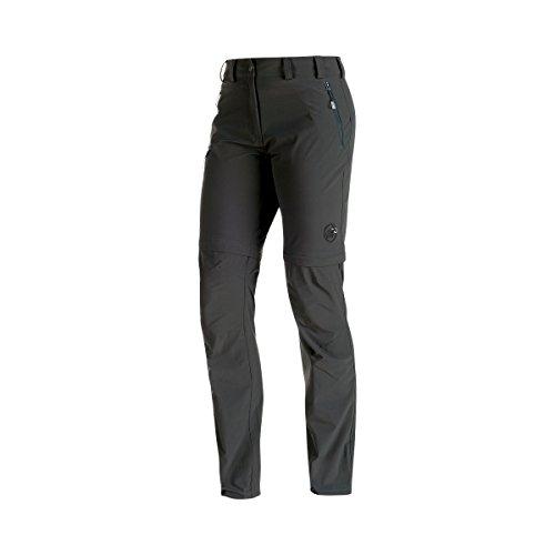 Mammut Runje Zip Off Women's Pants Graphite 22-44 Short