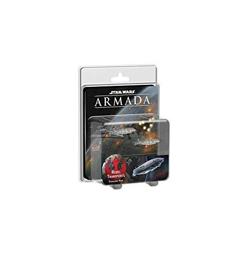 Asmodee–ubiswm19–Star Wars Armada–Transporte Rebeldes