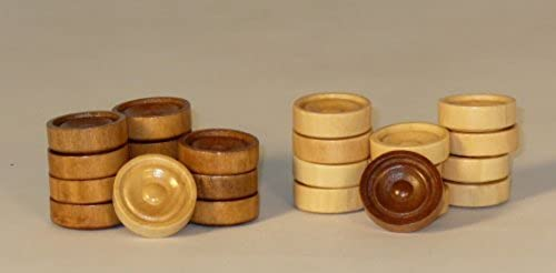 1 Wood Stacking Checkers by Worldwise Imports
