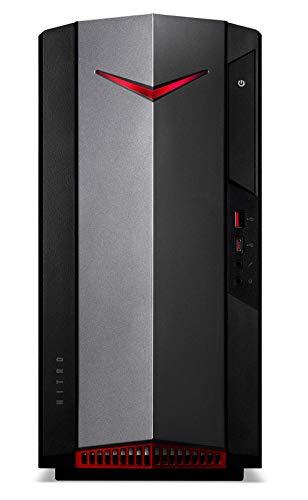 Acer Desktop N50-610 - Ordenador de sobremesa, Intel Core i5-10400, 16 GB de RAM, 512 GB SSD, NVIDIA GeForce GTX 1650 4 GB, FreeDos, Color Negro