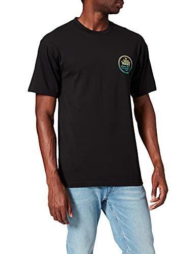 Vans Herren Custom Classic SS T-Shirt, Schwarz, XL