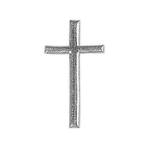 Rayher 3120922 Wachsmotiv: Kreuz, 4cm, SB-Btl 1Stück, silber