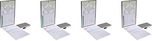 Athletic Specialties Coacher Magnetic Baseball Line-Up Board (4)