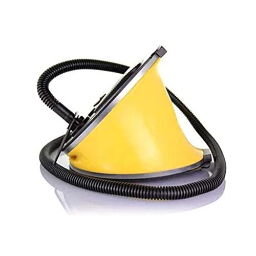 ABCDJHH Bomba de pie de Fuelle, Bomba de Aire portátil Bomba de pie de Fuelle Globos Neumático Flotante Inflable, Ideal para colchones de Aire, Piscinas para niños, hinchables, etc.