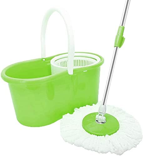 Celavisse 360° Microfiber Spin Mop Dual Head with specialty shop Bucket Houston Mall and