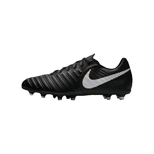 Nike Tiempo Rio IV FG, Zapatillas de Fútbol para Hombre, Negro (Black/White-Black 002), 42 EU