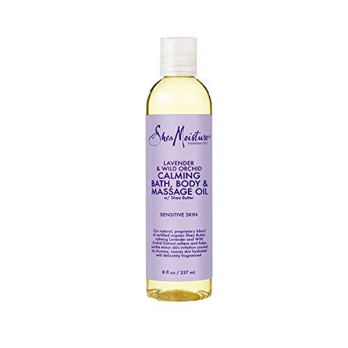 SHEA MOISTURE Lavender & Wild Orchid Bath-Body & Massage Oil