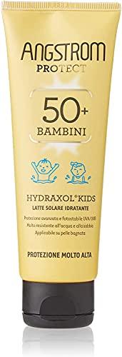 Angstrom Protect Crema Solare per bambini, Protezione Solare 50+ con Azione Idratante istantanea, Nutriente, Indicata per Pelli Sensibili, 125 ml