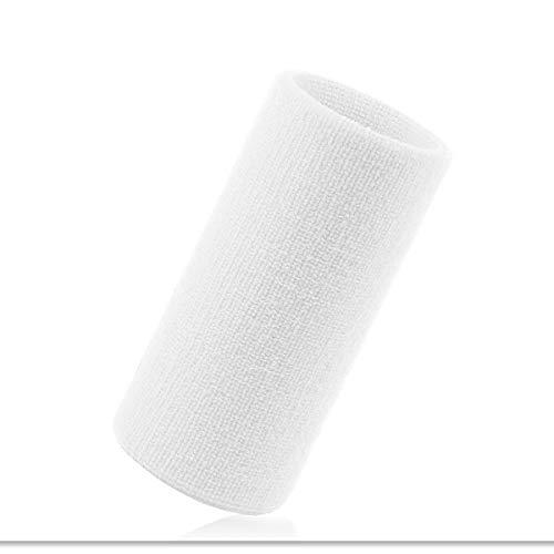 VENI MASEE 6 Zoll Lange, Dicke Wristband/Schweißband für Tennis und andere Sportarten, Preis/Stück