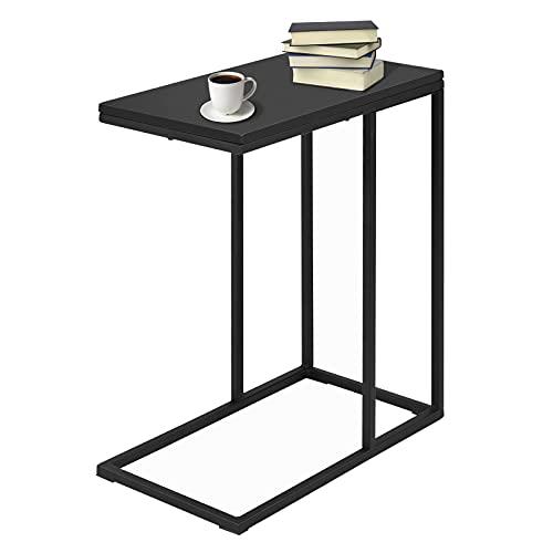 COSTWAY Beistelltisch Sofatisch Telefontisch Laptoptisch Nachttisch Anstelltisch Konsolentisch Couchtisch Kaffeetisch Balkontisch Wohnzimmertisch Flurtisch Ablagetisch Blumentisch Metall + Holz