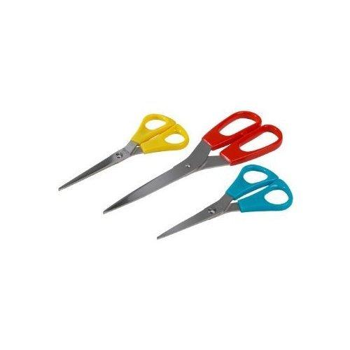 IKEA TROJKA formici Set di 3, multicolore obiettiamo-set Trio-cut in acciaio inox, 3 teilig - lavabile in lavastoviglie - 14 cm, 15 cm e 21 cm di lunghezza.