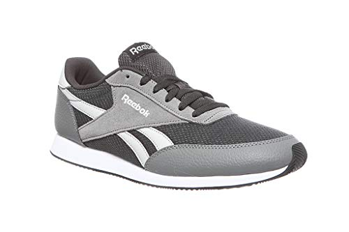 Reebok Royal Cl Jogger 2, Zapatillas de Deporte para Hombre, Multicolor (FS/Coal/Foggy Skull Grey/White 000), 39 EU
