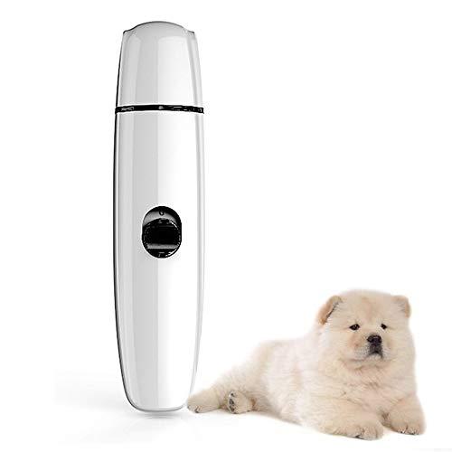 Ultrastille elektrische nagelvijl Pet Nail Grinder, voor het trimmen en glad maken van huisdierpoten voor honden, katten, snel opladen via USB