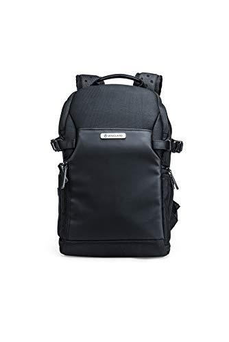 Vanguard Veo Select 37BRM BK - Mochila fotográfica para cámara sin espejo, acceso posterior y lateral, color Negro