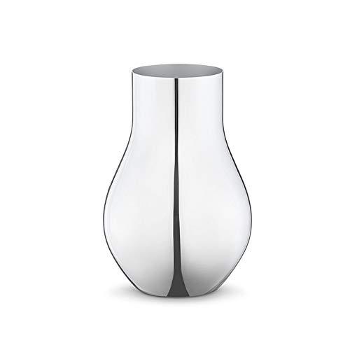 Georg Jensen cafu Vase en Acier Hauteur : 21,6 cm