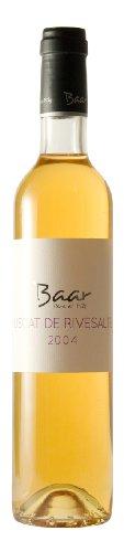 Muscat de Rivesaltes Vin Doux Naturel AOC 2004 - Französischer natursüßer, lieblicher Weisswein aus Languedoc-Roussillion, Rivesaltes - 500ml Flasche