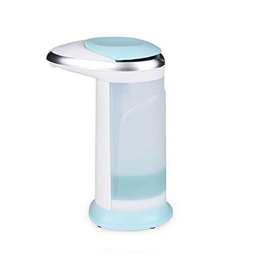 liushop Dispensadores de Jabón Dispensador Azul aristocrático del jabón de la Mano del desinfectante 400ml del jabón de la Mano del Sensor Inteligente automático Dispensadores de Loción