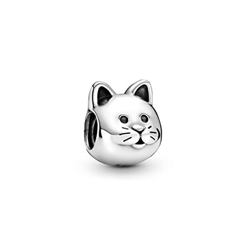 Pandora Jewelry Curious Cat Sterling Silver Charm