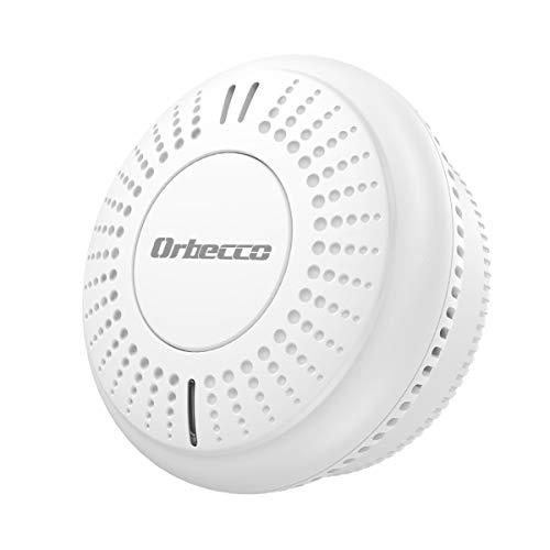 Orbecco Smoke Alarms, WiFi Smart Smoke Detector Alarm, 85dB Alarm Sound...