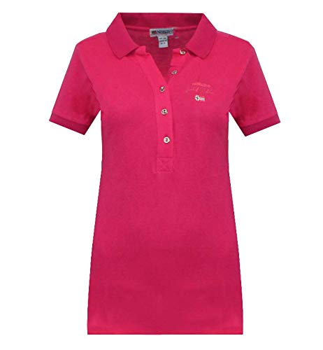 Geographical Norway Polo Kelodie Lady 100 % coton T-shirt femme ST4083F-GN-Rosa-XL