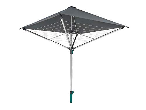 Leifheit Rotary Dryer-LinoProtect 400, aluminium,...