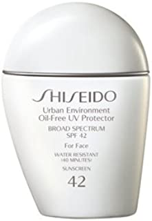Shiseido Urban Environment Oil-Free UV Protector For Face, Broad Spectrum SPF 42-50ml