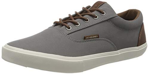 JACK & JONES Herren JFWVISION Classic Mixed Grey Sneaker, Grau (Frost Gray), 43 EU