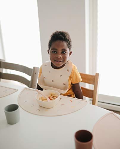シリコンランチョンマットmushieお食事マットプレイスマット防水ベビー離乳食北欧ランチマットテーブルマットシリコンマットシリコンランチマット(RETROCARS)
