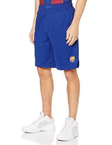 NIKE FCB M NK Short Replica Home Sport Shorts, Hombre, Deep Royal Blue/Varsity Maize