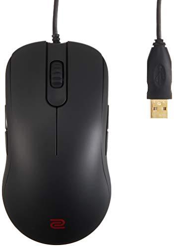 BenQ ゲーミングマウス ZOWIE FK1+ e-Sports用/特大サイズ両手持ち専用/プラグ&プレイ設計