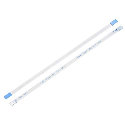 YeVhear - Cable plano flexible de 7 pines de 0,5 mm, 150 mm, FPC FFC, cable de cinta flexible para TV LCD, reproductor de DVD de audio de coche, portátil, 5 unidades (tipo A)