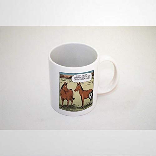 Horse Hip Replacement Mug Coffee Mug 11 oz Ceramic coffee or Tea cup Funny Mug Best present for Men Women Birthday Festival Christmas