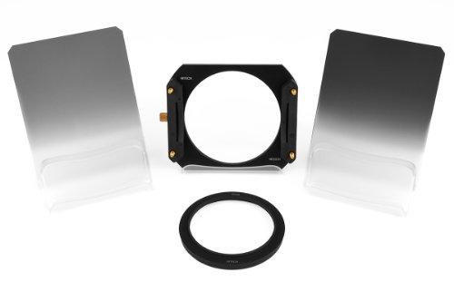 Formatt-Hitech - Kit de iniciación (Densidad Neutra, graduación de Borde Suave, Resina, 100 x 150 mm, Adaptador de 52 mm)