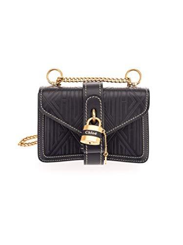 Luxury Fashion | Chloé Dames CHC20SS207C424D4 Zwart Leer Schoudertassen | Lente-zomer 20