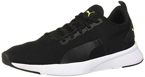 Puma FLYER RUNNER Zapatillas de deporte  para Unisex adulto, color Puma Black-Nrgy Red-Yellow Alert, 22