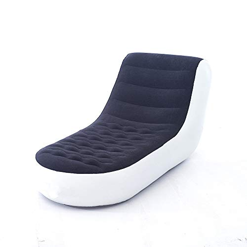 Viitech Aufblasbares Lazy Sofa, Single Lounge Chair Klappliege, Ergonomisches hautfreundliches Freizeitsofa Lazy Couch mit elektrischer Pumpe für Indoor-Outdoor-Campingaktivitäten