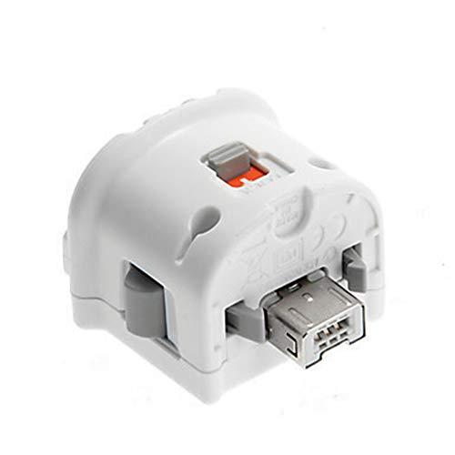 Sensor Plus Motion Plus de alta calidad para Nintend Wii Console Control remoto inalámbrico de Wiimote Controlador Blanco y negro - Blanco