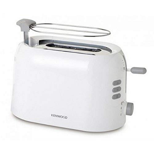 Kenwood True Toaster White Tostadora eléctrica, 800 W, Plástico, 2 Ranuras, Blanco