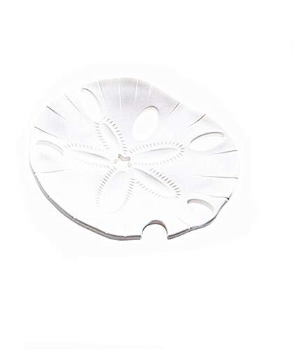 BEI&YANG Jabonera De Plástico Caja De Jabón De Estrella De Mar En Casa Desagüe De Baño Jabonera@Estrellas De Mar Blanco