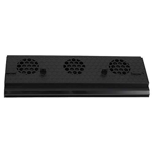 TOOGOO Support Vertical avec Ventilateur De Refroidissement pour Xbox One X, Support De Console GlacièRe avec 3 Ports USB pour Console Xbox One X