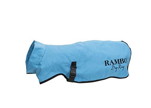 Horseware Rambo Hundedecke, Blau, Größe M
