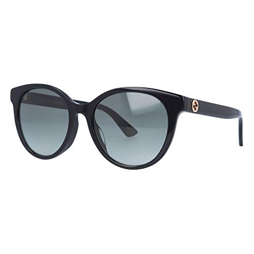 Gucci Occhiali da Sole GG0702SK BLACK/GREY SHADED 54/19/145 donna