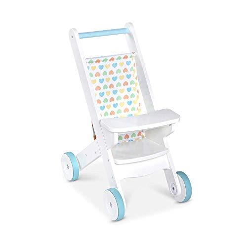 Melissa & Doug Wooden Baby Stroller